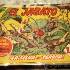 Tebeos: LOTE DE 150 TEBEOS DE EL JABATO , BRUGUERA , ORIGINALES .. Lote 135310301