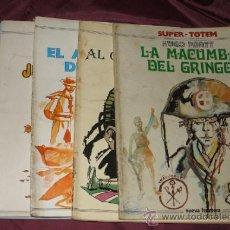 Tebeos: LOTE 6 NUMEROS DE COMICS SUPER TOTEM NUMEROS 1, 3, 8, 10, 11, Y 18 DE EDIT. NUEVA FRONTERA 1979. Lote 33745155