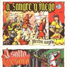 Tebeos: TEBEOS-COMICS GOYO - FLECHA NEGRA - BOIXCAR - 1949 - COMPLETA *CC99. Lote 34045434