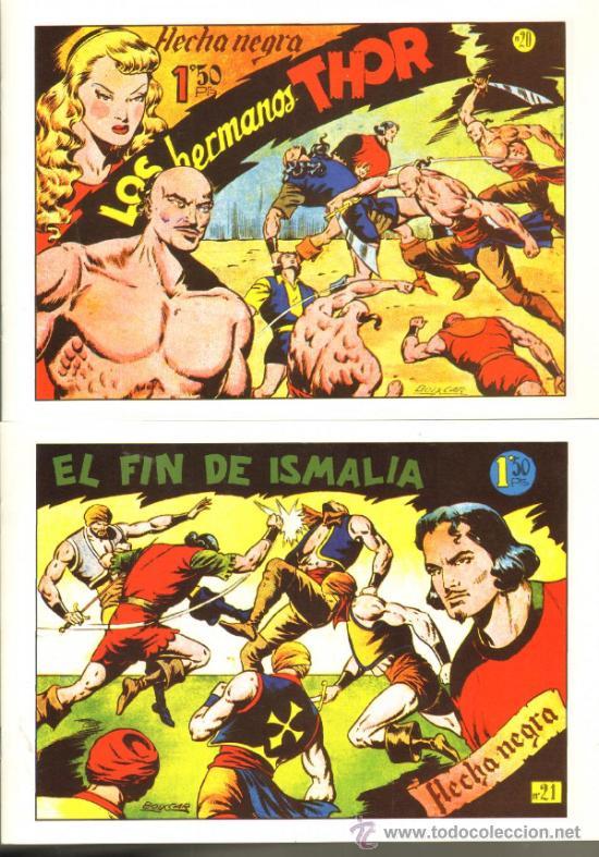 Tebeos: TEBEOS-COMICS GOYO - FLECHA NEGRA - BOIXCAR - 1949 - COMPLETA *CC99 - Foto 4 - 34045434
