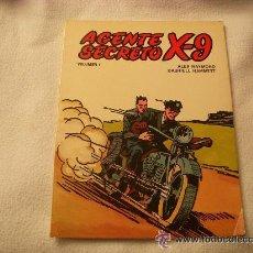 Tebeos: AGENTE SECRETO X - 9 COLECCION COMPLETA 7 NUMEROS EDICIONES B.O. 1979.. Lote 43891739