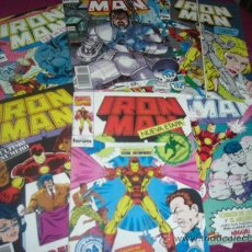 Tebeos: IRON MAN LOTE CON Nº 1-2-4-5-6-7-8-9-10-11-14-15. Lote 34428005