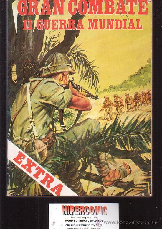GRAN COMBATE II GUERRA MUNDIAL , LOTE DE 5 TOMOS ( 20 EJEMPLARES TOTAL ) (Tebeos y Comics - Tebeos Colecciones y Lotes Avanzados)