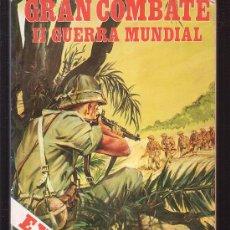 Tebeos: GRAN COMBATE II GUERRA MUNDIAL , LOTE DE 5 TOMOS ( 20 EJEMPLARES TOTAL ). Lote 34442317