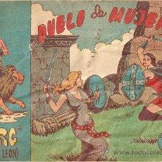 Tebeos: TORG HIJO DE LEÓN, AÑO 1.960. Nº 6 - 9. ORIGINALES. EDITORIAL ANDALUZA.. Lote 34465399