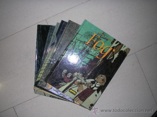 FOG. NORMA. COLECCION COMPLETA 6 ALBUMES TAPA DURA SIN ESTRENAR (Tebeos y Comics - Tebeos Colecciones y Lotes Avanzados)