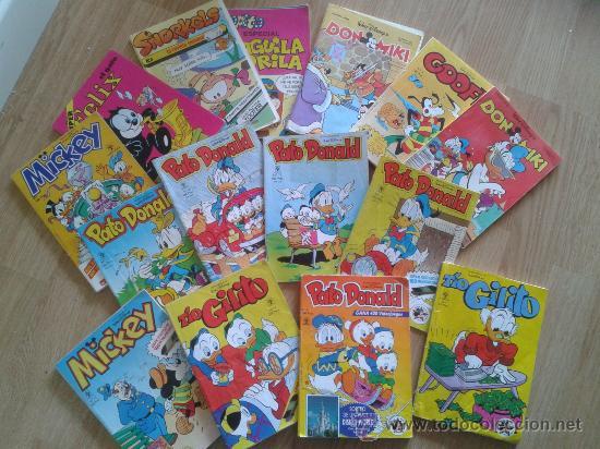 VENDIDOS LOS DON MIKIS - GOOFY, COPITO, PATO DONALD, MICKEY, FELIX EL GATO ,SNORKELS. (Tebeos y Comics - Tebeos Pequeños Lotes de Conjunto)