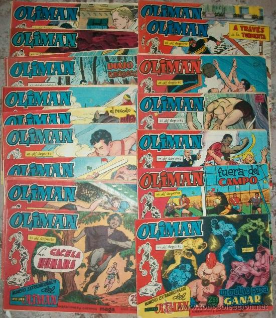 OLIMAN (EXTRA) (MAGA) 24 EJ. (COMPLETA) (Tebeos y Comics - Tebeos Colecciones y Lotes Avanzados)