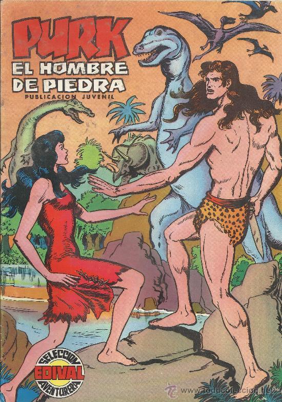 PURK EL HOMBRE DE PIEDRA ( VALENCIANA ) ORIGINAL 1974-1976 LOTE (Tebeos y Comics - Tebeos Colecciones y Lotes Avanzados)