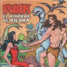 Tebeos: PURK EL HOMBRE DE PIEDRA ( VALENCIANA ) ORIGINAL 1974-1976 LOTE. Lote 35959461