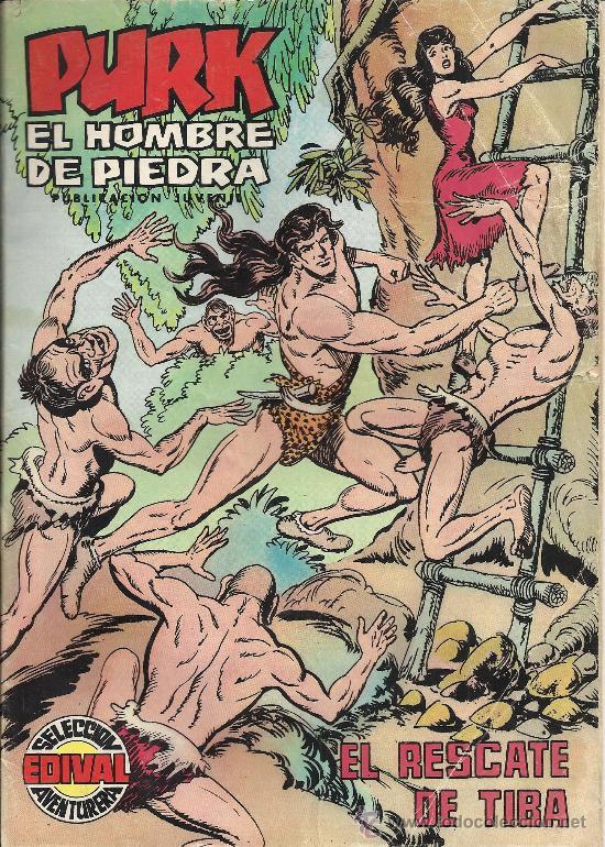 Tebeos: PURK EL HOMBRE DE PIEDRA ( VALENCIANA ) ORIGINAL 1974-1976 LOTE - Foto 2 - 35959461