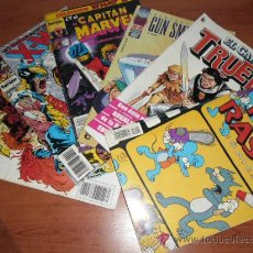 Tebeos: LOTE DE 6 COMICS -PICA Y RASCA -EL CAPITAN TRUENO -GUN SMITH CATS -CAPITAN MARVEL -X MEN . Lote 36097289
