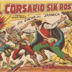 Tebeos: EL CORSARIO SIN ROSTRO, AÑO 1.959. Nº 2 - 26. ORIGINALES, EDITORIAL MAGA.. Lote 36141501
