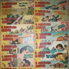 Tebeos: EL GUERRILLERO AUDAZ (VALENCIANA) (LOTE DE 18 NUMEROS). Lote 36200553
