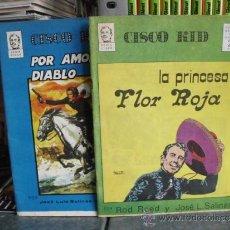 Livros de Banda Desenhada: CISCO KID - 2 NÚMEROS (1-2) - COMPLETA - GRAFIMART 1974. Lote 36270333