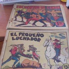Tebeos: EL PEQUEÑO LUCHADOR LOTE Nº 1 AL 79 FORMATO GRANDE. 32 X 21 (ORIGINAL ED. VALENCIANA). Lote 36512572