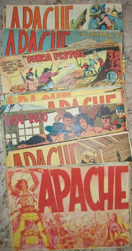 APACHE 1ª (MAGA) 56 EJ (COMPLETA) (ORIGINAL) VER DESCRIPCION (Tebeos y Comics - Tebeos Colecciones y Lotes Avanzados)