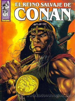 EL REINO SALVAJE DE CONAN ( PLANETA-DEAGOSTINI ) AÑO 2000-2004 LOTE (Tebeos y Comics - Tebeos Colecciones y Lotes Avanzados)