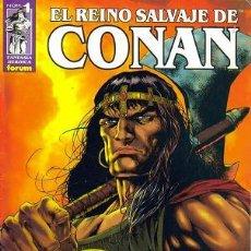 Tebeos: EL REINO SALVAJE DE CONAN ( PLANETA-DEAGOSTINI ) AÑO 2000-2004 LOTE. Lote 36790480