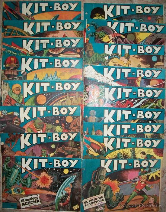 KIT BOY 1ª (SORIANO) 27 EJ. FALTAN 8 (LOTE) VER DESCRIPCION (Tebeos y Comics - Tebeos Colecciones y Lotes Avanzados)
