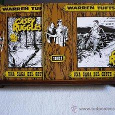 Tebeos: CASEY RUGGLES. WARREN TUFTS. B.O. EDICIONES. COMPLETA, 2 NÚMEROS. CÓMIC OESTE.. Lote 37032912