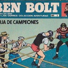 Tebeos: COLECCION COMPLETA BEN BOLT EDITORIAL BURULAN 12 COMICS . Lote 37050748