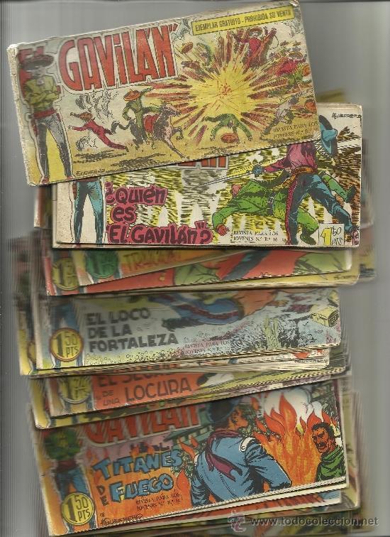 COLECCION COMPLETA DEL GAVILAN (Tebeos y Comics - Tebeos Colecciones y Lotes Avanzados)