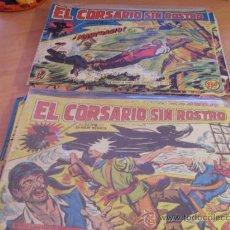 Tebeos: EL CORSARIO SIN ROSTRO. LOTE COLECCION COMPLETA (ORIGINAL ED. MAGA) (COIM17). Lote 37431594