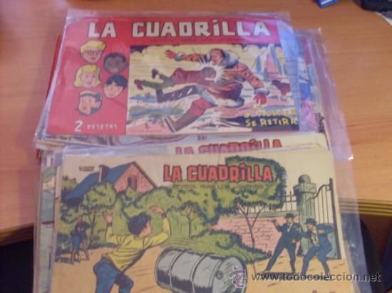 LA CUADRILLA. LOTE COLECCION CASI COMPLETA (ORIGINAL ED. MAGA) (CLA3) (Tebeos y Comics - Tebeos Colecciones y Lotes Avanzados)