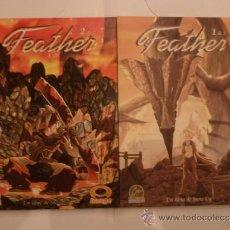 Tebeos: FEATHER - IMAGE - ALETA EDICIONES - COMPLETA CJ 2 - GORBAUD. Lote 37510176