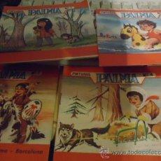 Tebeos: LOTE DE 4 ANTIGUOS LIBRITOS PARA COLOREAR , PINTURAS PALMA 1961- EDITORIAL ROMA BARCELONA 1,4,7 Y 8. Lote 37541148