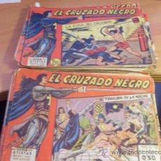 Tebeos: EL CRUZADO NEGRO LOTE COLECCION COMPLETA (ORIGINAL ED. MAGA) (COIB124). Lote 37634635