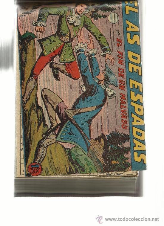 EL AS DE ESPADAS COLECCION COMPLETA (Tebeos y Comics - Tebeos Colecciones y Lotes Avanzados)