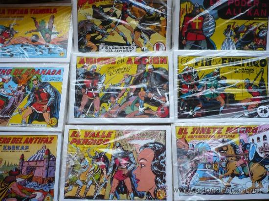EL GUERRERO DEL ANTIFAZ. MANUEL GAGO. EDICIÓN FACSÍMIL COMPLETA. (Tebeos y Comics - Tebeos Colecciones y Lotes Avanzados)