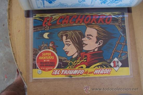 BRUGUERA LOTE 211 Nº EL CACHORRO, AHORA CON EL ALMANAQUE (Tebeos y Comics - Tebeos Colecciones y Lotes Avanzados)
