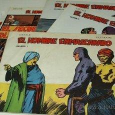 Tebeos: EL HOMBRE ENMASCARADO COLECC. COMPLETA DE B.O. 1981- 6 VOL. PERFECTOS. Lote 38357836