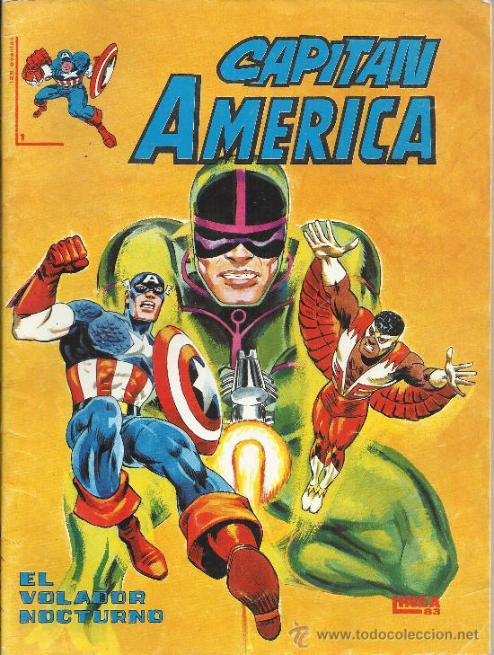 CAPITAN AMERICA ( SURCO ) ORIGINAL 1983 LOTE (Tebeos y Comics - Tebeos Pequeños Lotes de Conjunto)