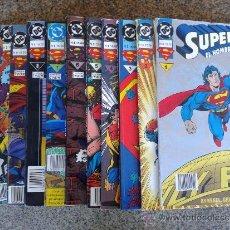 Tebeos: SUPERMAN,EL HOMBRE DE ACERO -- EDICION ESPECIAL -- LOTE 12 NUMEROS. Lote 47318118