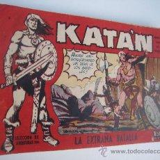 Tebeos: KATAN. LOTE ORIGINAL DE 20 CUADERNILLOS. EDITORIAL TORAY 1960.. Lote 38728335