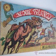 Tebeos: EL JEQUE BLANCO. LOTE ORIGINAL DE 14 CUADERNILLOS. EDITORIAL ROLLAN 1951.. Lote 38730020