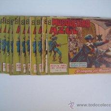 Tebeos: EL MOSQUETERO AZUL. LOTE ORIGINAL DE 14 CUADERNILLOS. EDITORIAL BRUGUERA 1963.. Lote 38730217