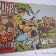 Tebeos: SAFARI. LOTE ORIGINAL DE 22 CUADERNILLOS. EDITORIAL IBERO MUNDIAL1965.. Lote 38731670