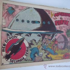 Tebeos: RED DIXON 2ª. LOTE ORIGINAL DE 19 CUADERNILLOS. EDITORIAL MARCO 1954.. Lote 38738696