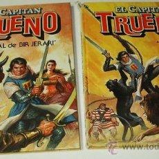 Tebeos: EL CAPITAN TRUENO - COMPLETA CON LOS DOS TOMOS TAPA DURA DE BRUGUERA 1986. Lote 38739391