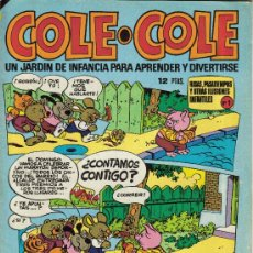 BDs: COLE - COLE ( BRUGUERA ) 1975-1977 LOTE. Lote 38752257