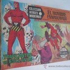 Tebeos: EL HOMBRE ENMASCARADO. HEROES MODERNOS SERIE A. LOTE DE 36 NºS. EDITORIAL DOLAR.. Lote 38804983