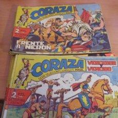 Tebeos: CORAZA. LOTE COLECCION COMPLETA ( ORIGINAL EDITORIAL MAGA) (CLA3). Lote 38981192