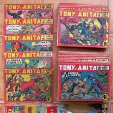 Tebeos: TONY Y ANITA 1ª - COMPLETA - 153 TEBEOS MAS 5 ALMANAQUES Y UN EXTRA - EDITORIAL MAGA 1951. Lote 39058088
