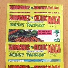 Tebeos: JOHNNY PACIFICO - COLECCIÓN COMPLETA, 31 TEBEOS NUEVOS - EDITORIAL MAGA 1965. Lote 39067069