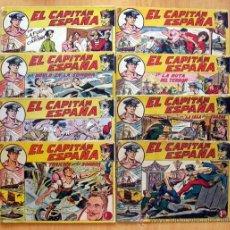 Tebeos: EL CAPITÁN ESPAÑA - COLECCIÓN COMPLETA, 32 CUADERNOS - EDITORIAL MAGA 1955. Lote 39067124